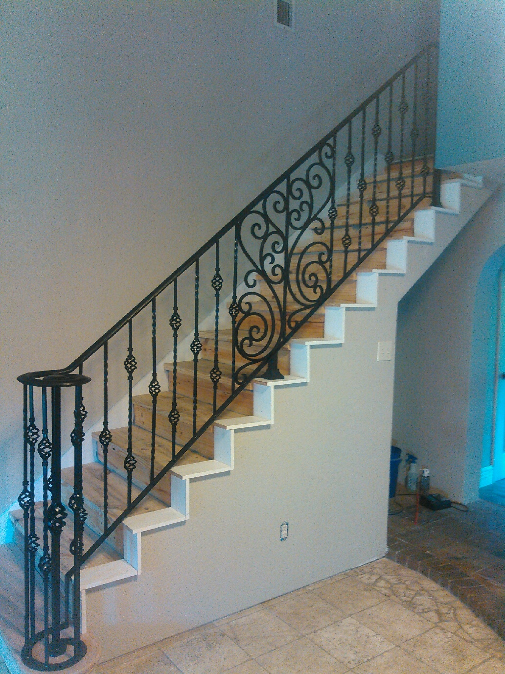 Stair Rails Fence Geeks Wrought Iron Fences Gates